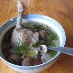 Lunch: Duck soup